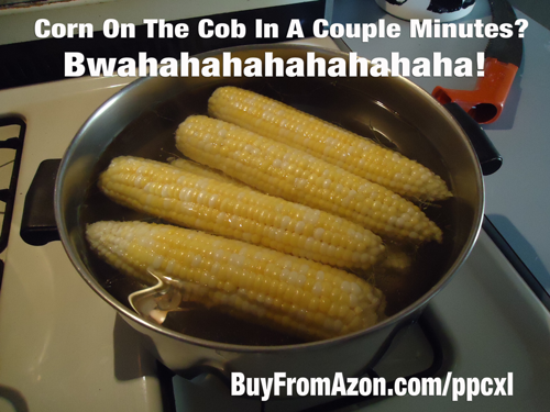 Corn On The Cob Cooked FAST!