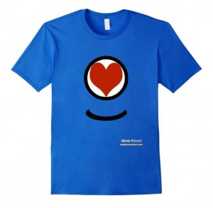 Show you care with a #Love #Heart shirt!