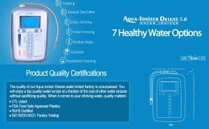 Deluxe Aqua Ionizer 5.0