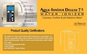 Deluxe Aqua Ionizer 7.5