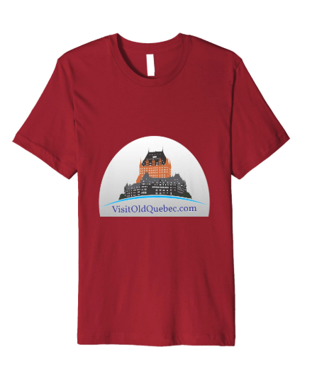Visit Old Quebec Tee Shirt